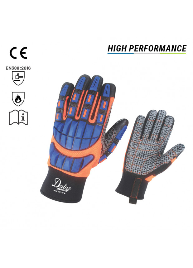 Impact Gloves - Machanics Wear DLI-802